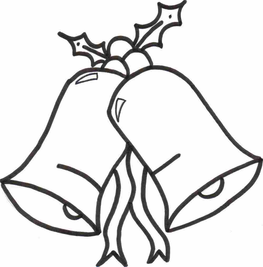 Christmas Bells Coloring Sheet Preview